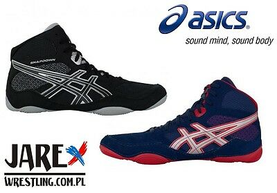 ASICS Wrestling Shoes (boots) SNAPDOWN Ringerschuhe Chaussures de Lutte Boxing