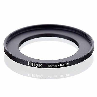 46mm to 62mm 46-62 46-62mm46mm-62mm Stepping Step Up Filter Ring Adapter