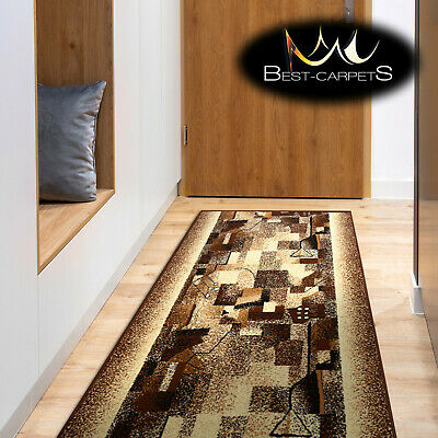 Modern Hall Carpet Runner BCF IMPRESSION Stairs Width 70cm-100cm extra long RUGS