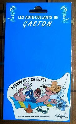Les auto-collants de Gaston 8 - Franquin - 1990