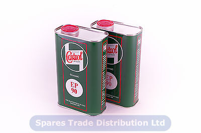 Castrol Classic EP90 Gearbox Oil - Differential - Mineral Base - 2L