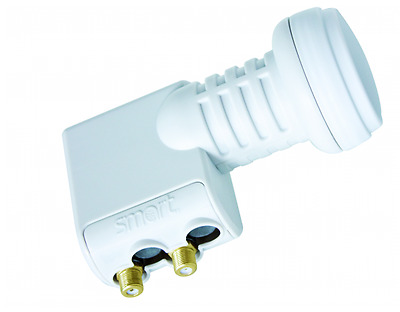 Smart Titanium Universal Twin LNB 0.1dB Gold Coated Connections HD 3D Ready