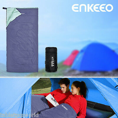 Double Outdoor Camping 2 Sizes Waterproof Sleeping Bag for Camping Hiking Travel