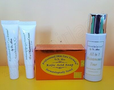 Dr. Alvin Maintenance Set from Professional Skin Care Formula  Kojic Glutathione