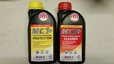 ADEY Central Heating System Protector and Cleaner 500ml Liquid MC1+ and MC3+