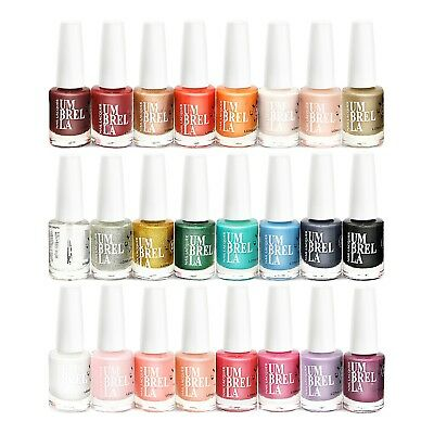 8 x Big Nail Polish Set 11ml 8 Different Modern Colours Quick Dry Made in EU