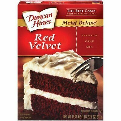 Duncan Hines Signature RED VELVET  Cake Mix 468g Delicious Moist