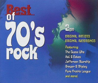 VARIOUS ARTISTS : BEST OF 70'S ROCK (CD) sealed