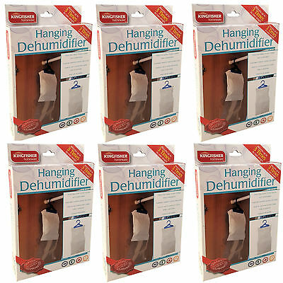 Hanging Wardrobe Dehumidifier Stop Moisture, Damp Mould Mildew Condensation