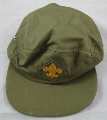Vintage Boy Scouts of America Insignia Small Kids Hat Cap Official Headwear