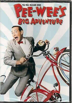 "dvd ""pee wee's big adventure""     1er film de tim burton  NEUF SOUS BLISTER"