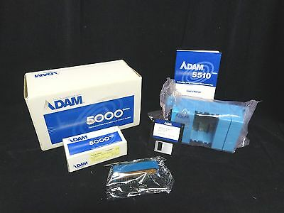 ADAM 4 Slot PROGRAMMABLE CONTROLLER (With BATTERY) PN: ADAM-5510-A2 (NEW in BOX)