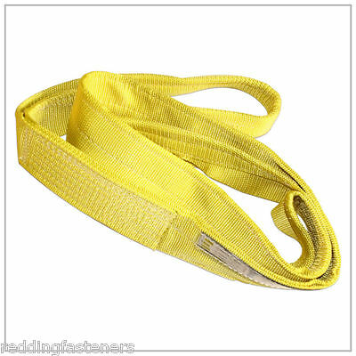 LIFTEX EE292 2IN X 8FT Polyester/Nylon Lifting Sling Strap 2-Ply 8 Foot USA