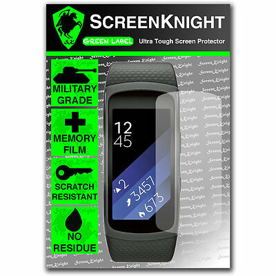 ScreenKnight Samsung Galaxy Gear Fit 2 / ii - SCREEN PROTECTOR invisible shield
