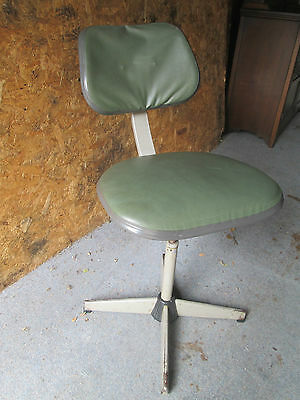 VINTAGE EVERTAUT SWIVEL CHAIR - for restoration -