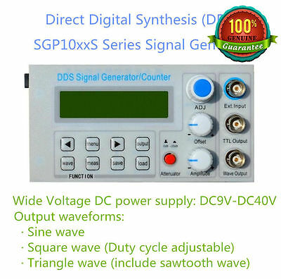 10Mhz Panel DDS Function Signal Generator Module Sine/Triangle/Square Wave+Sweep