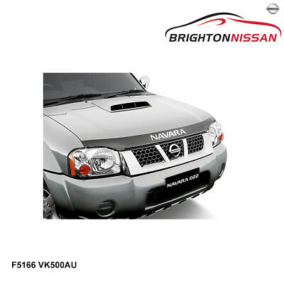 New Genuine Nissan Navara D22 Bonnet Protector Smoked F5166VK500AU RRP $93
