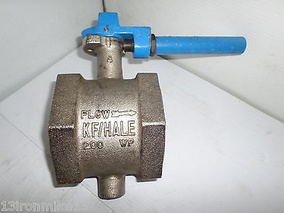"New Kf/hale 4"" Butterfly Valve 416Ss-Stem Buna-N-Seat&seal 200Wp"