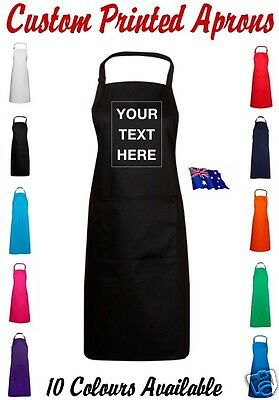 Custom Personalised Adult Apron Cook Chef BBQ Novelty Party Gift