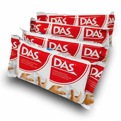 DAS Air Dry Modelling Craft Clay 150g White BUY 2 GET ONE FREE - ADD 3 TO BASKET
