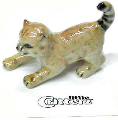"Little Critterz Miniature Porcelain Animal Figure Cheetah Cub ""Streak"" LC408"