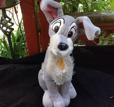 Disney Store Lady and the Tramp Tramp plush soft toy 13''