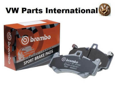 Audi RS4 RS6 R8 Brembo Sport Front Brake Pads 16.7mm