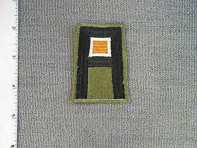 Early WWII 1st U. S. Army Signal Branch patch from Richard W. Smith Collection