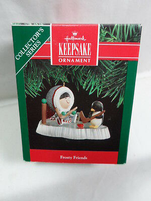 1991 Hallmark Keepsake Ornament Frosty Friends #12