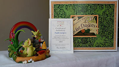Real Musgrave Pocket Dragon Puddle Jumpers Limited Ed Very Rare - Stunning!