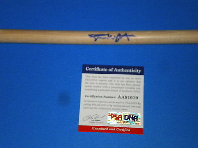 "SIMON WRIGHT ""AC/DC UFO"" DRUMMER SIGNED DRUMSTICK psa/dna"