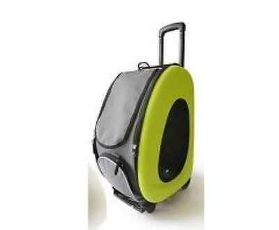 Pet Stroller,IPS-025/Green/Lime, dog carrier, trolley, Trailer, Innopet, pet for