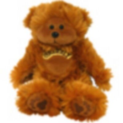 """Skansen  Beanie Kid """"grizzly"""" The Bear Prem. Exclusive Mint With Mint Tag"""