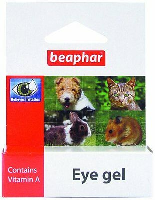 Beaphar Eye Gel 5 Ml Pet Supplies Relieves Irritation Additional Lubricant For