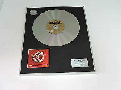 bang!...the greatest hits of frankie goes to hollywood  cd  PLATINUM DISC RECORD