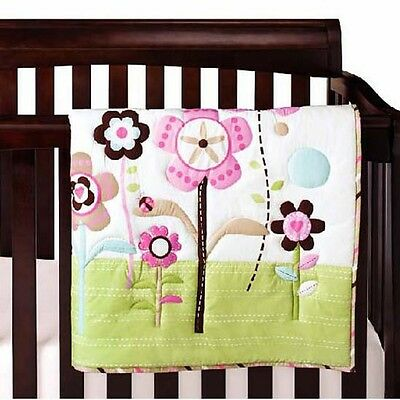 NEW Baby Cot Bedding Sets 6 PCs - Quilt Bumper Fitted Sheet 117-3