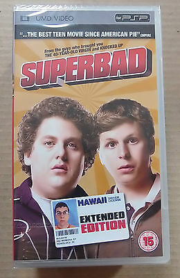 Superbad  (New & Sealed)(Sony PSP UMD Video)  Free  Postage