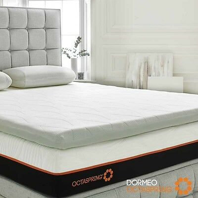 Dormeo Octaspring Body Zone Mattress Topper Support SUPER KING Size Comfy Sleep