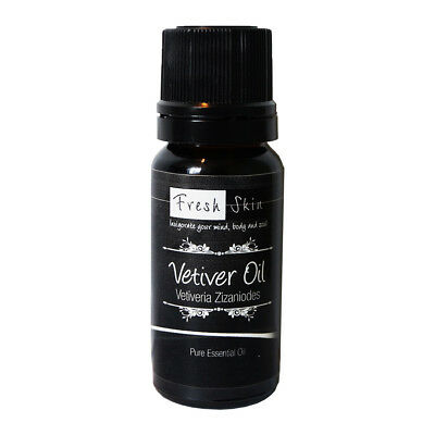 10ml Vetiver Pure Essential Oil - 100% Pure, Certified & Natural - Aromatherapy