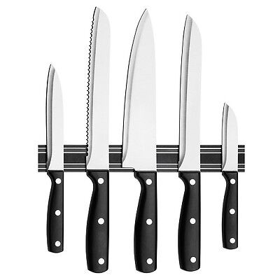 Magnetic Knife Knives Wall Rack 33cm Keep Your Knives Safe and Sharp Brand New
