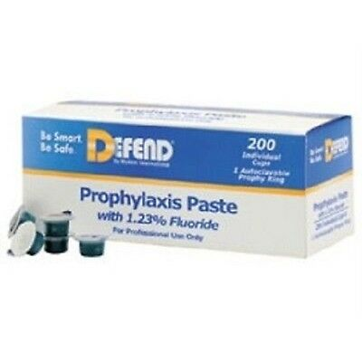 Defend Prophy Paste Medium Grit Cherry Flavored With Fluoride 200/box