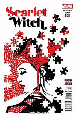 Scarlet Witch #8 (2016) 1St Printing Bagged & Boarded
