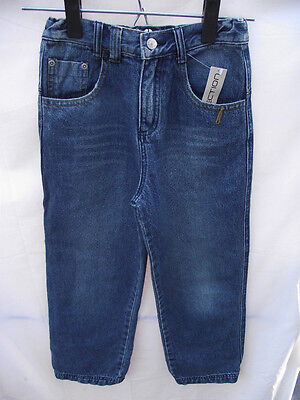 BNWT Boys Sz 8 YCC Designer Blue Dirty Denim Crushed Look Jeans RRP $60