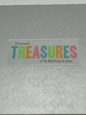 D23 Treasures of the Walt Disney Archives Catalog Hardcover Book 1/2000 First