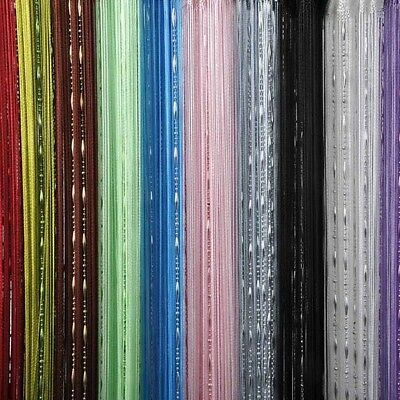 Chain Bead String Door Curtain Screen Divider Room Window Blind Tassel Decor New