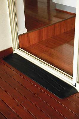 Rubber Threshold Ramp 50mm High*Door Wedge*Wheelchair, Disability Access, Home