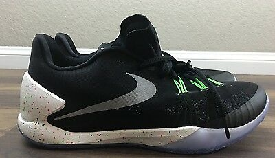 56621ff7e6 NIKE HYPERCHASE PRM SZ 8.5 BLACK METALLIC SILVER WHITE 705369 001 James  Harden