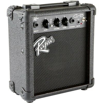 Rogue G5 5W Battery-Powered Guitar Combo Amp Black