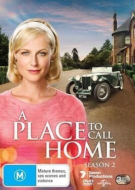 A PLACE TO CALL HOME-Season 2-Region 4-New AND Sealed-3 DVD Set-TV Series