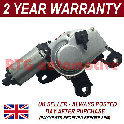 12V WINDOW WINDSCREEN WIPER MOTOR REAR BACK FOR AUDI A4 ESTATE AVANT 08 On